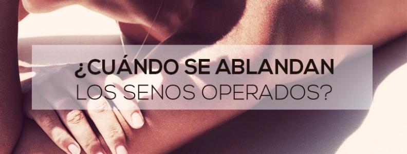 Cuándo se ablandan los senos operados?   Dr. Alberto Marina