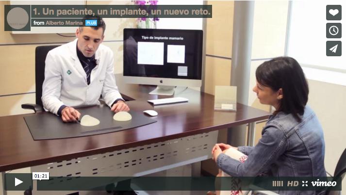 una paciente un implante un nuevo reto